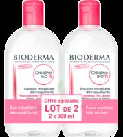 Crealine Ts H2o Solution Micellaire Sans Parfum Nettoyante Apaisante 2fl/500ml à LORMONT
