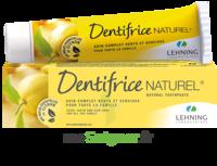 Lehning Pâte Dentifrice Homéopathique Citron T/80g à LORMONT