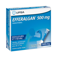 Efferalgan 500 Mg Glé En Sachet Sach/16 à LORMONT