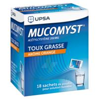 Mucomyst 200 Mg Poudre Pour Solution Buvable En Sachet B/18 à LORMONT
