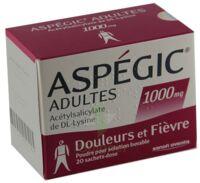 Aspegic Adultes 1000 Mg, Poudre Pour Solution Buvable En Sachet-dose 15 à LORMONT