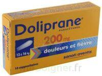 Doliprane 200 Mg Suppositoires 2plq/5 (10) à LORMONT