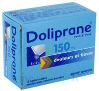 Doliprane 150 Mg Poudre Pour Solution Buvable En Sachet-dose B/12 à LORMONT