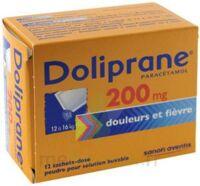 Doliprane 200 Mg Poudre Pour Solution Buvable En Sachet-dose B/12 à LORMONT