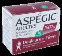Aspegic Adultes 1000 Mg, Poudre Pour Solution Buvable En Sachet-dose 30 à LORMONT