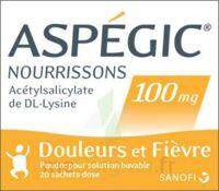 Aspegic Nourrissons 100 Mg, Poudre Pour Solution Buvable En Sachet-dose à LORMONT
