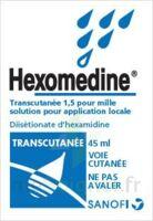 Hexomedine Transcutanee 1,5 Pour Mille, Solution Pour Application Locale à LORMONT