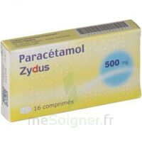 Paracetamol Zydus 500 Mg, Comprimé à LORMONT