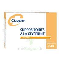 Suppositoires A La Glycerine Cooper Suppos En Récipient Multidose Adulte Sach/25 à LORMONT