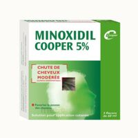Minoxidil Cooper 5 %, Solution Pour Application Cutanée à LORMONT