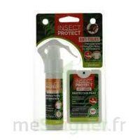 Insect Protect Spray Peau + Spray VÊtements Fl/18ml+fl/50ml à LORMONT