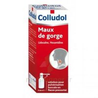 Colludol Solution Pour Pulvérisation Buccale En Flacon Pressurisé Fl/30 Ml + Embout Buccal à LORMONT