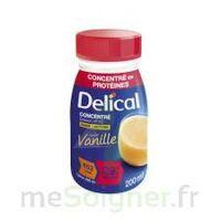 Delical Boisson Hp Hc Concentree Nutriment Vanille 4bouteilles/200ml à LORMONT