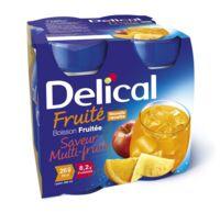 Delical Boisson Fruitee Nutriment Multi Fruits 4bouteilles/200ml à LORMONT