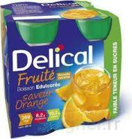 Delical Boisson Fruitee Nutriment édulcoré Orange 4bouteilles/200ml à LORMONT