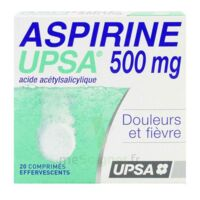 Aspirine Upsa 500 Mg, Comprimé Effervescent à LORMONT