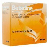 Betadine Alcoolique 5 % S Appl Cut En Récipient Unidose B/10 à LORMONT