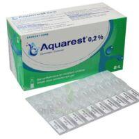 Aquarest 0,2 %, Gel Opthalmique En Récipient Unidose à LORMONT