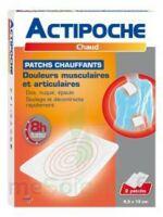 Actipoche Patch Chauffant Douleurs Musculaires B/2 à LORMONT