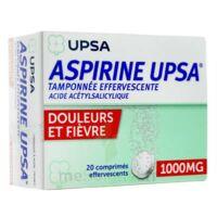 Aspirine Upsa Tamponnee Effervescente 1000 Mg, Comprimé Effervescent à LORMONT