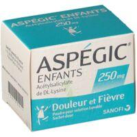 Aspegic Enfants 250, Poudre Pour Solution Buvable En Sachet-dose à LORMONT