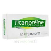 Titanoreine Suppositoires B/12 à LORMONT