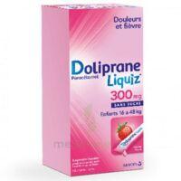 Dolipraneliquiz 300 Mg Suspension Buvable En Sachet Sans Sucre édulcorée Au Maltitol Liquide Et Au Sorbitol B/12 à LORMONT