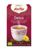 Yogi Tea Tisane Ayurvédique Détox Bio 17 Sachets/1,8g à LORMONT
