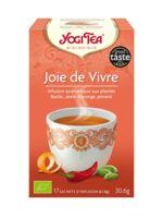 Yogi Tea Tisane Ayurvédique Joie De Vivre Bio 17 Sachets/1,8g à LORMONT