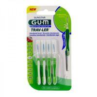 Gum Trav - Ler, 1,1 Mm, Manche Vert , Blister 4 à LORMONT