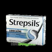 Strepsils Lidocaïne Pastilles Plq/24 à LORMONT