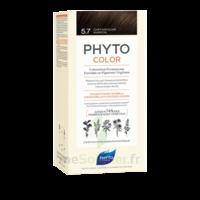 Phytocolor Kit Coloration Permanente 5.7 Châtain Clair Marron à LORMONT