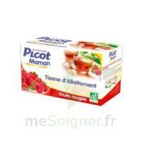 Picot Maman Tisane D'allaitement Fruits Rouges 20 Sachets à LORMONT