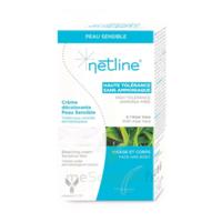 Netline Crème Visage/corps Décolorante Peau Sensible 30+30ml à LORMONT
