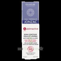 Jonzac Eau Thermale Sublimactive Crème Soin Contour Yeux Lèvres Jeunesse Immédiate 15ml à LORMONT