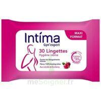 Intima Gyn'expert Lingettes Cranberry Paquet/30 à LORMONT