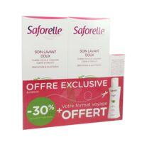 Saforelle Solution Soin Lavant Doux 2*500ml+100ml à LORMONT