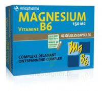 Arkovital Magnésium Vitamine B6 Gélules B/120 à LORMONT