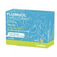 Fluimucil Expectorant Acetylcysteine 600 Mg Glé S Buv Adultes 10sach à LORMONT