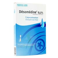 Desomedine 0,1 % Collyre Sol 10fl/0,6ml à LORMONT