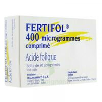 Fertifol 400 µg Cpr Plq/90 à LORMONT