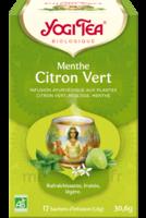 Yogi Tea Tis AyurvÉdique Menthe Citron Vert Bio 17sach/1,8g à LORMONT