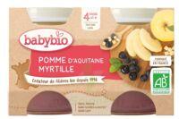 Babybio Pot Pomme Myrtille à LORMONT
