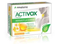 Activox Sans Sucre Pastilles Miel Citron B/24 à LORMONT
