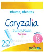 Boiron Coryzalia Solution Buvable Unidose B/20 à LORMONT