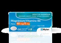 Magnesium/vitamine B6 Mylan 48 Mg/5 Mg, Comprimé Pelliculé à LORMONT