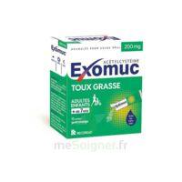 Exomuc 200 Mg, Granulés Pour Usage Oral En Sachet 15 Sachets/2g à LORMONT