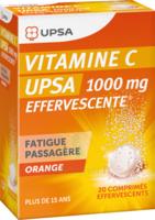 Vitamine C Upsa Effervescente 1000 Mg, Comprimé Effervescent à LORMONT