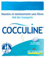 Boiron Cocculine Comprimés Orodispersibles B/40 à LORMONT